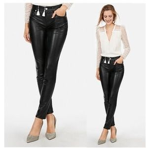 High Waisted (Minus The) Leather Ankle Leggings
